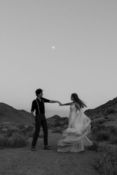 Camping Wedding in the California Desert