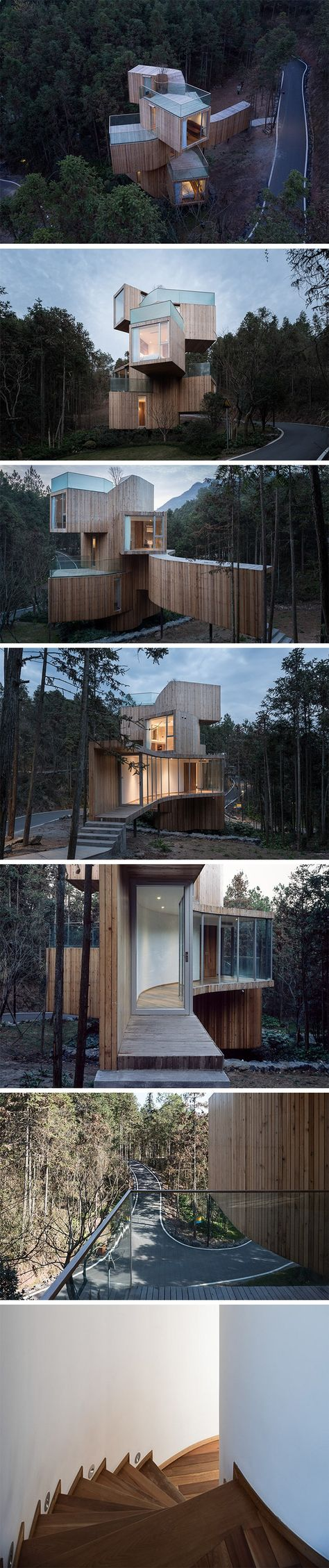 12 Tree House Homes You Should Consider | Cedar Trees, Tree Houses And  Architecture