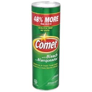 893442 Comet Disinfectant Cleanser 25 Oz Best Cleaning Products Cleaning All Purpose Cleaners