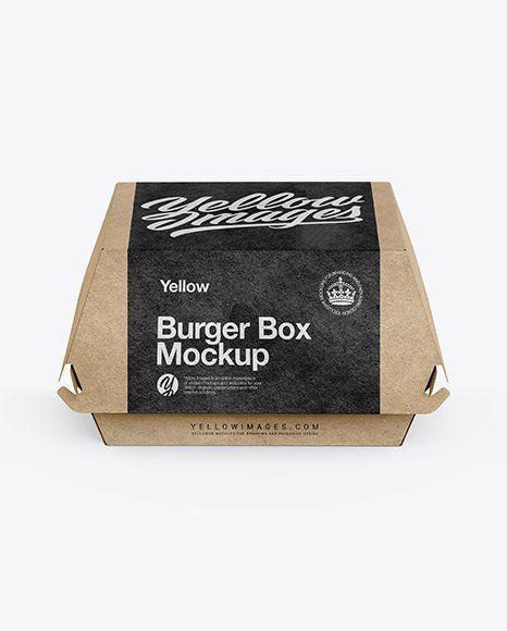 Download Box Packaging Mockup Free Matte Cosmetic Jar With Box Mockup In Jar Mockups On Yellow Images In 2020 Burger Box Box Mockup Mockup Free Psd PSD Mockup Templates