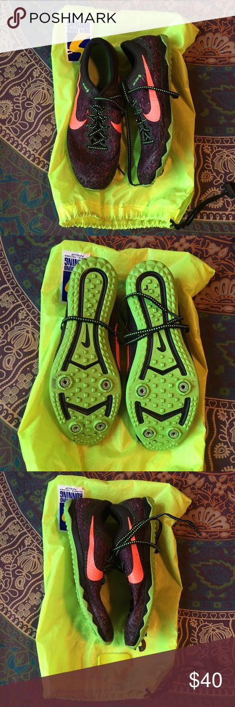 free shipping 08c5b eabd7 Nike cross country  distance track spikes Good condition, worn for two  racing seasons.