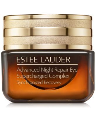 Estee Lauder Advanced Night Repair Eye Supercharged Complex Synchronized Recovery 0 5 Oz Reviews Shop All Brands Beauty Macy S Estee Lauder Advanced Night Repair Advanced Night Repair Eye Cream For Dark Circles