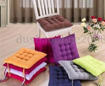 Coussin De Chaise De Cuisine In 2020 Sitting Cushion Cushions On Sofa Chair Cushions