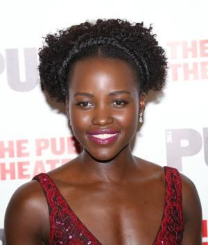 Holiday hairstyles for natural hair are as full of variety and beauty as natural hair itself. These festive hairdos bring out the best of your texture for this time of year.: Natural Holiday Hairstyles: Lupita Nyong'o