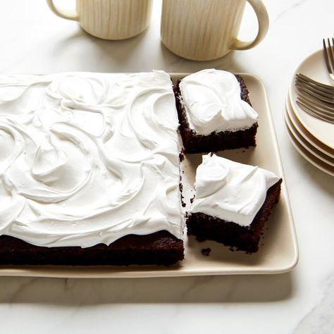 Deep, Dark Chocolate Cake