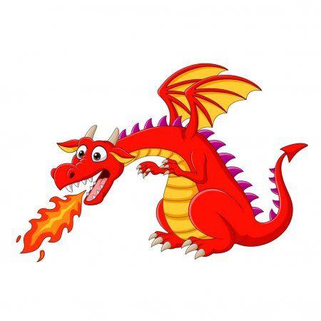 Cartera Tigatelu Fotos Ilustraciones Y Arte Vectorial De Depositphotos Depositphotos Ilustracion Vectorial Dragon Rojo Dragones