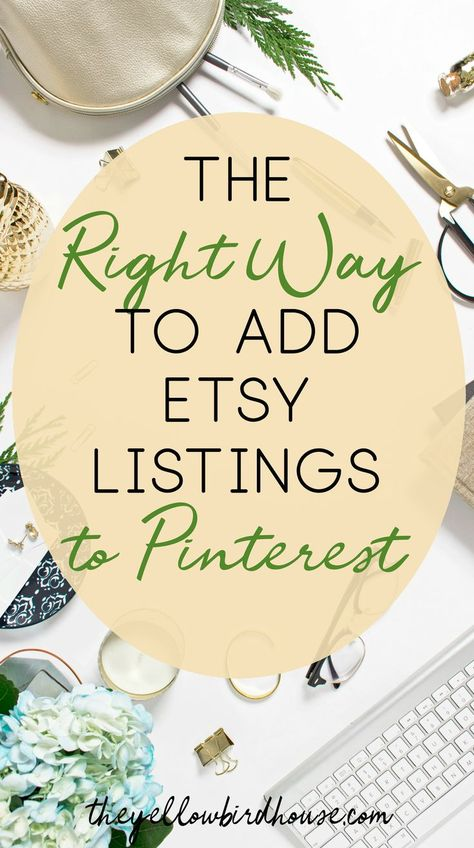 How to Create Pins for Etsy Listings and Add Them to Pinterest