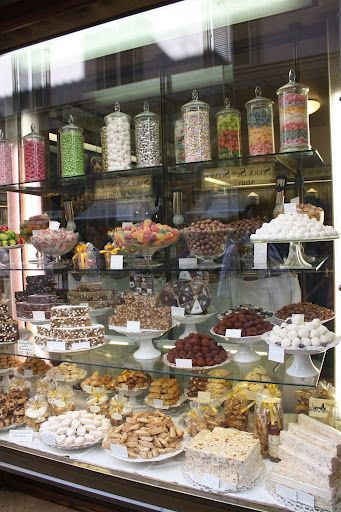 The shops in Florence provide a feast for the eyes