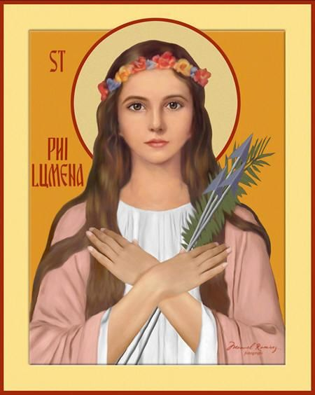 About St. Philomena - Patron Saint Article