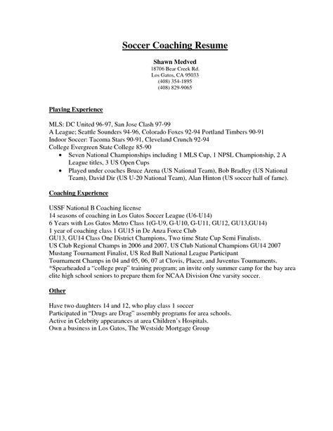 Truck Drivers Resume Sample -    topresumeinfo truck-drivers - soccer coaching resume