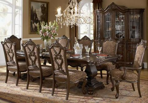 Grand European Upholstered Dining Side Chair By A R T Furniture Inc Riverview Galleries Nc