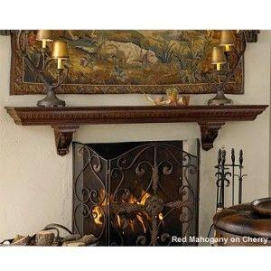 Mantel Design: Commodore Fireplace Mantel Shelf http://www.mantelsdirect.com/mantel-blog/Fireplace-Mantel-Design-Ideas