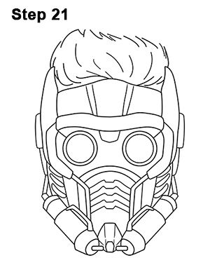 Star Lord Drawing 21 Galaxy Drawings Star Lord Drawing Stars