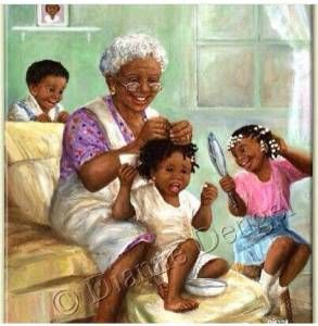 """African American Black Art Print /""""SHE DID IT/"""" by Lonnie Ollivierre"""