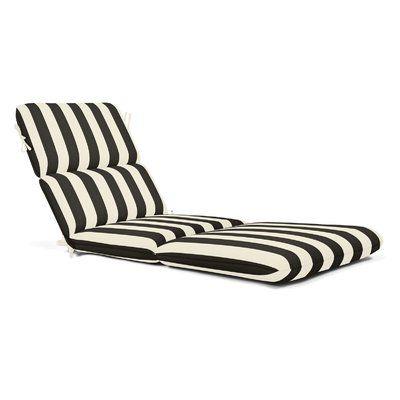 Winston Porter Indoor Outdoor Sunbrella Chaise Lounge Cushion
