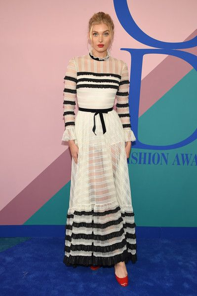 Elsa Hosk - The Most Fabulous Looks at the CFDA Fashion Awards - Photos
