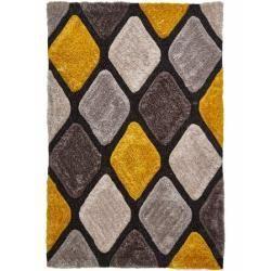 Teppiche Handgefertigter Teppich Colchester In Grau Gelbwayfair De Teppiche Yellow Grey Rug Yellow Rug Rustic Rugs