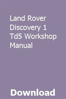 Land rover defender diesel (feb 2007-2016) 56 to 16 haynes online.