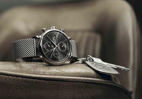 IWC Portofino Chronograph Steel Watch 3910-06