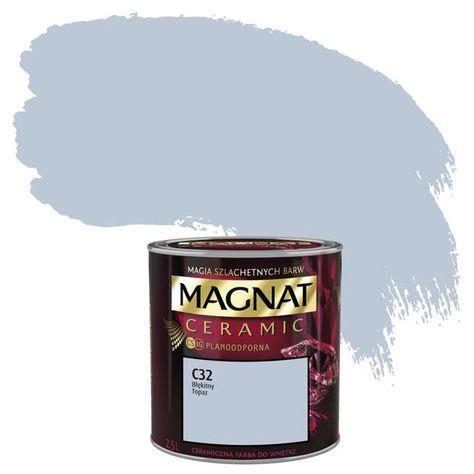 Farba Do Scian I Sufitow Ceramic 2 5 L Blekitny Topaz Magnat