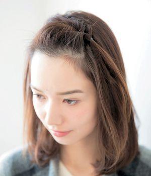 結んでくるん 手軽さが魅力の前髪くるりんぱ 美的 Com 簡単ヘア