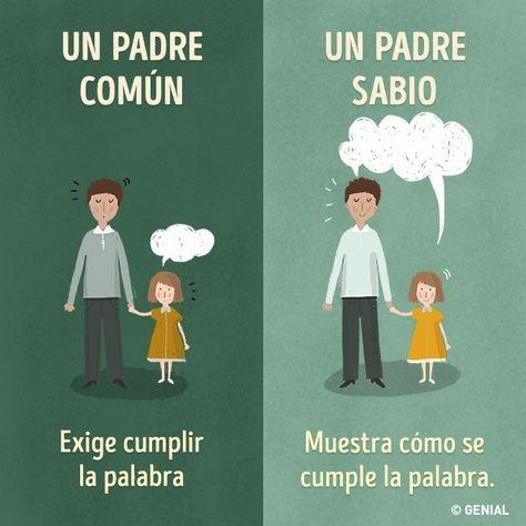 11 Diferencias Entre Padres Sabios Y Comunes Aprender A Ser