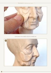 How to make a doll head 340 photos and 4 videos demonstrate all the stages of sculpting. In this part I explain how to sculpt three different heads - a classical girl, an old characte