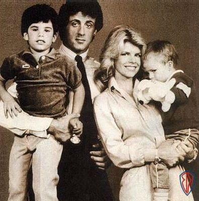 Sasha Czack Family Sylvester Stallone Sage Stallone Seargeoh Stallone Sage Stallone Sylvester Stallone Sylvester