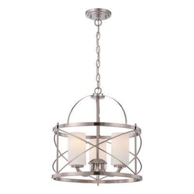Light Got Pendant In Brushed Nickel