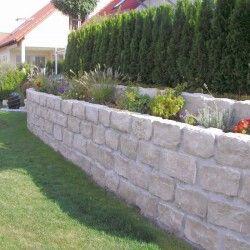 Jura Kalk Mauersteine 12 Cm Hoch Steinmauer Garten Gartengestaltung Garten
