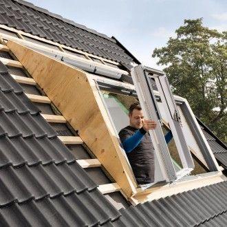 Velux Dachfenster Lichtlosung Panorama Kunststoff Thermo Weiss 3x2 Fenster In 2020 Dachfenster Dachfenster Velux Fenster