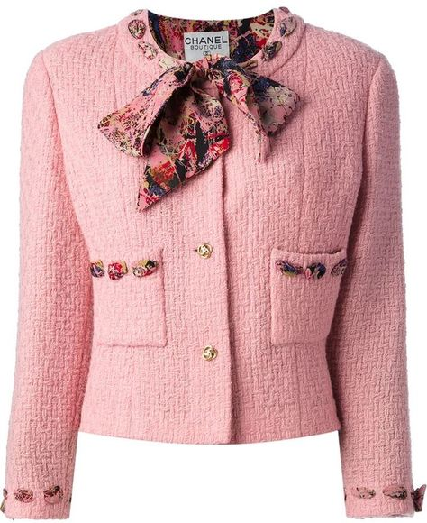 Chanel Vintage boucle jacket and skirt suit and other apparel, accessories and trends. Browse and shop related looks.