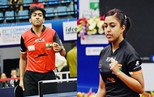 In Table Tennis Hosts India Completed All The Seven Gold Medals In Their 21st Commonwealth Championships Giving A Clean Sweep Whi Table Tennis Tennis Sports