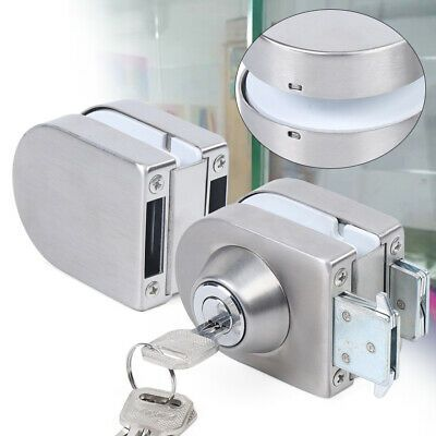 Ad Ebay Frameless Glass Door Stainless Steel 10mm 12mm Glass Double Door Lock W 3keys Us In 2020 Frameless Glass Doors Glass Door Lock Kitchen Faucets Pull Down