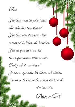 Reponse Du Pere Noel Téléchargez la réponse du Père Noël: c'est gratuit!   Reponse du