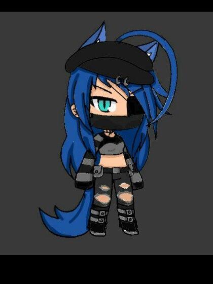 I Tried My Gacha Life Me Xd Not That Good Tomboy Girl Bad Girl Outfits Anime Wolf Girl