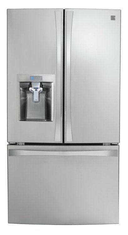 Kenmore 4675043 Smart French Door Bottom Mount Refrigerator 24 Best Counter Depth Refrigerator French Door Bottom Freezer Counter Depth Refrigerator