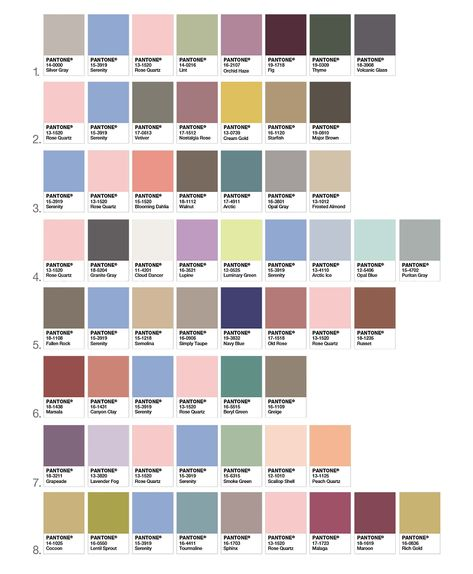 Pantone, the authority in color, has named 2 colors for it's annual color of the year 2016 - Rose Quartz and Serenity. Not to be confused with pink, Pantone describes Rose Quartz as 'gentle tone .