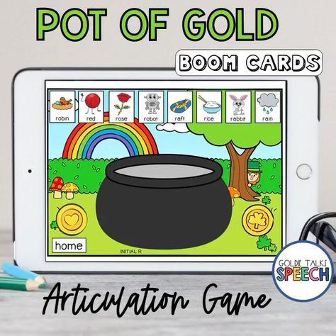 Pot of Gold Articulation Boom Cards