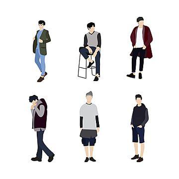 Conjunto De Personas De Ropa Masculina Coreana Persona Coreano Vector Png Y Vector Para Descargar Gratis Pngtree Ropa Ropa Masculina Corea Ropa