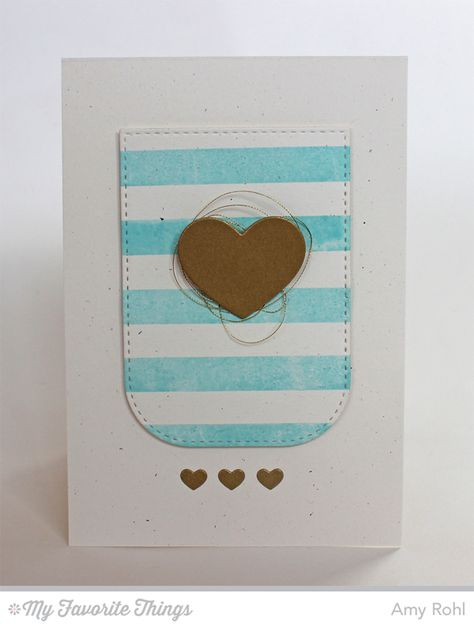 Striped Backgrounds, Tag Builder Blueprints 3 Die-namics - Amy Rohl #mftstamps