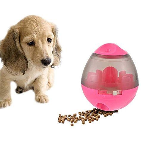 Hifuar Pet Treat Dispenser Ball Toy Interactive Iq And Mental