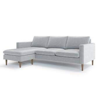 Daughtrey Reversible Sleeper Sectional Reviews Allmodern Modern Sectional Sectional Sectional Sofa