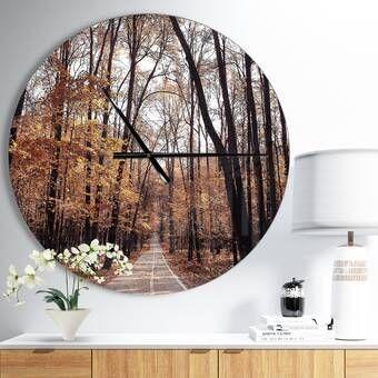 Symmetrical Fractal Flower Wall Clock Traditional Wall Clocks Country Wall Clock Metal Wall Clock