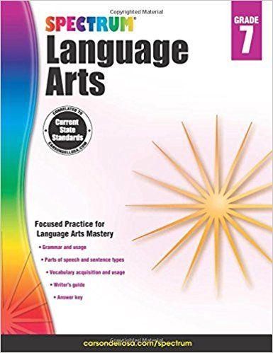 Spectrum Language Arts Grade 7 Spectrum 9781483812113 Amazon Com Books Math Workbook Science Literacy Workbook