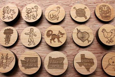 Handmade Laser Cut Wood Gift Harry Potter Platform 9 3//4 Fridge Magnet
