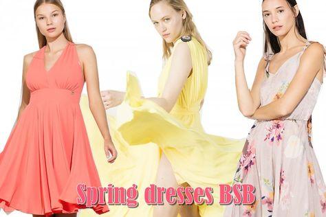 ae4409680d5 Ανοιξιάτικα φορέματα BSB: Οι πιο hot επιλογές της σεζόν! | fashion-Μόδα