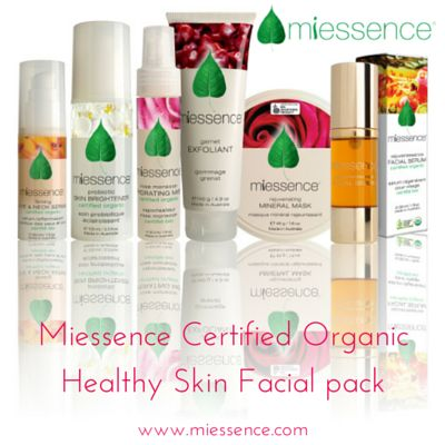 Miessence Certified Organic Healthy #Skin #Facial pack