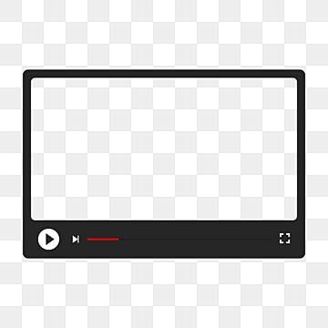 Video Frame Vector Png Element Ai Rectangle Clipart Video Frame Video Png And Vector With Transparent Background For Free Download Frame Border Design Frame Template Boutique Logo Design