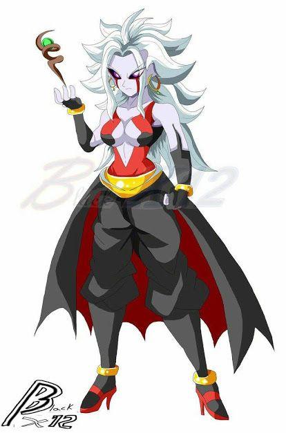 21 X Towa Fusion Anime Dragon Ball